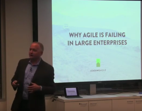 Why Agile Is Failing in Large Enterprises