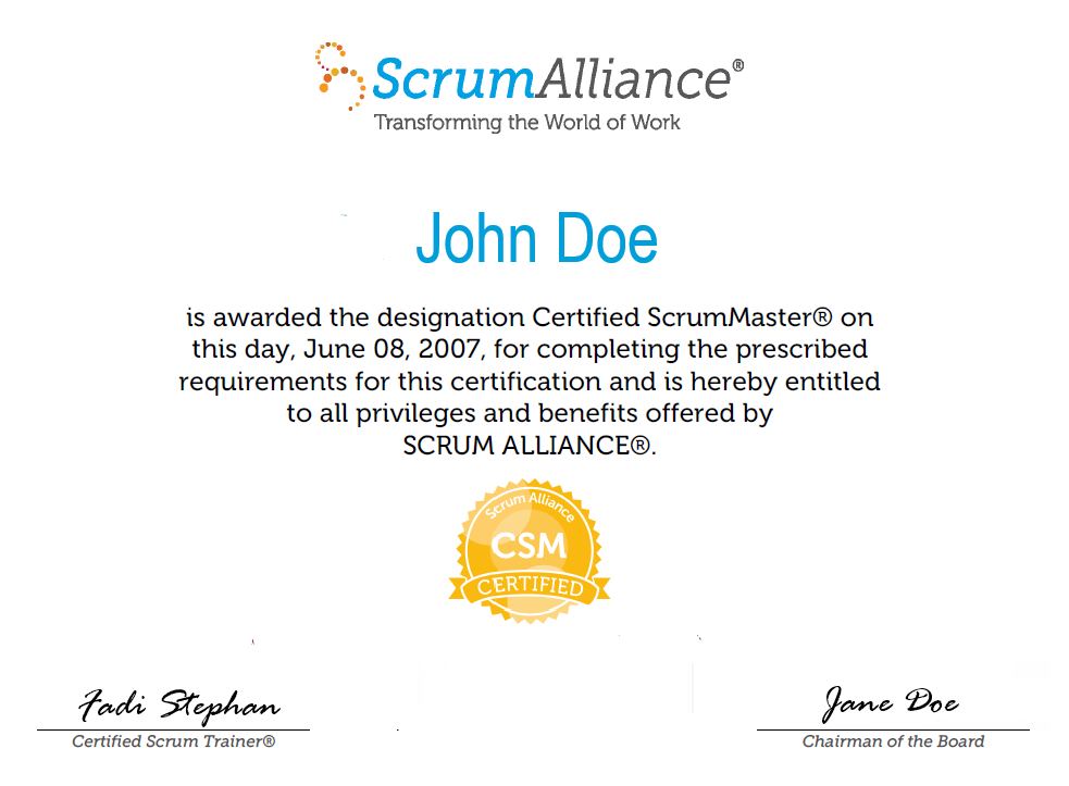 How do I Become a Certified ScrumMaster (CSM)?