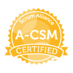 12/19 – Advanced Certified ScrumMaster (A-CSM) Training (Live/Virtual/Online)