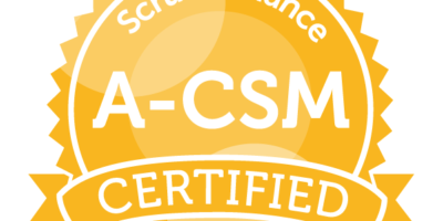 7/18 – Advanced Certified ScrumMaster (A-CSM) Training (Live/Virtual/Online)