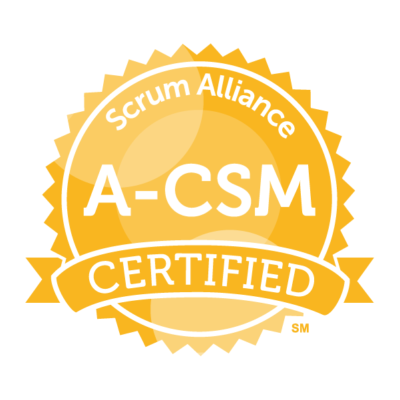 8/15 – Advanced Certified ScrumMaster (A-CSM) Training (Live/Virtual/Online)