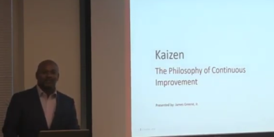 Kaizen – The Philosophy of Continuous  Improvement