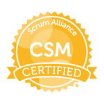 4/25 – Certified ScrumMaster (CSM) Training Class (Live/Virtual/Online)