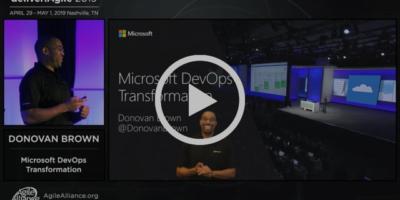 Microsoft DevOps Transformation