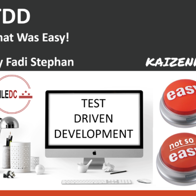 TDD – That Was Easy!