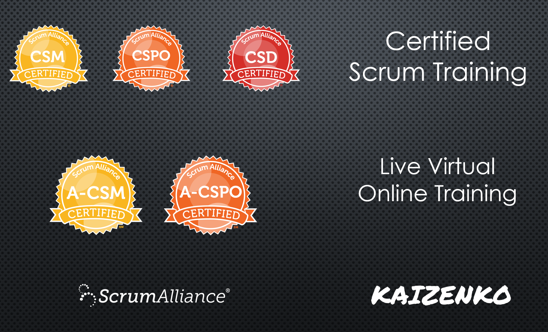 Online Certified Scrum Classes