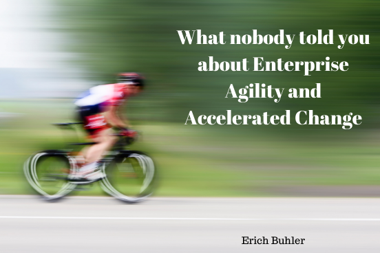 Erich Buhler presents on Enterprise Agility and Accelerated Change at DCSUG