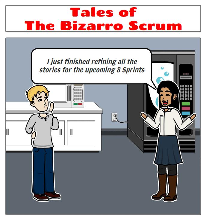 bizarro scrum kaizenko product backlog refinement