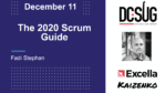 The Top 11 Changes to the 2020 Scrum Guide by Fadi Stephan at the DC Scrum User Group (DCSUG)