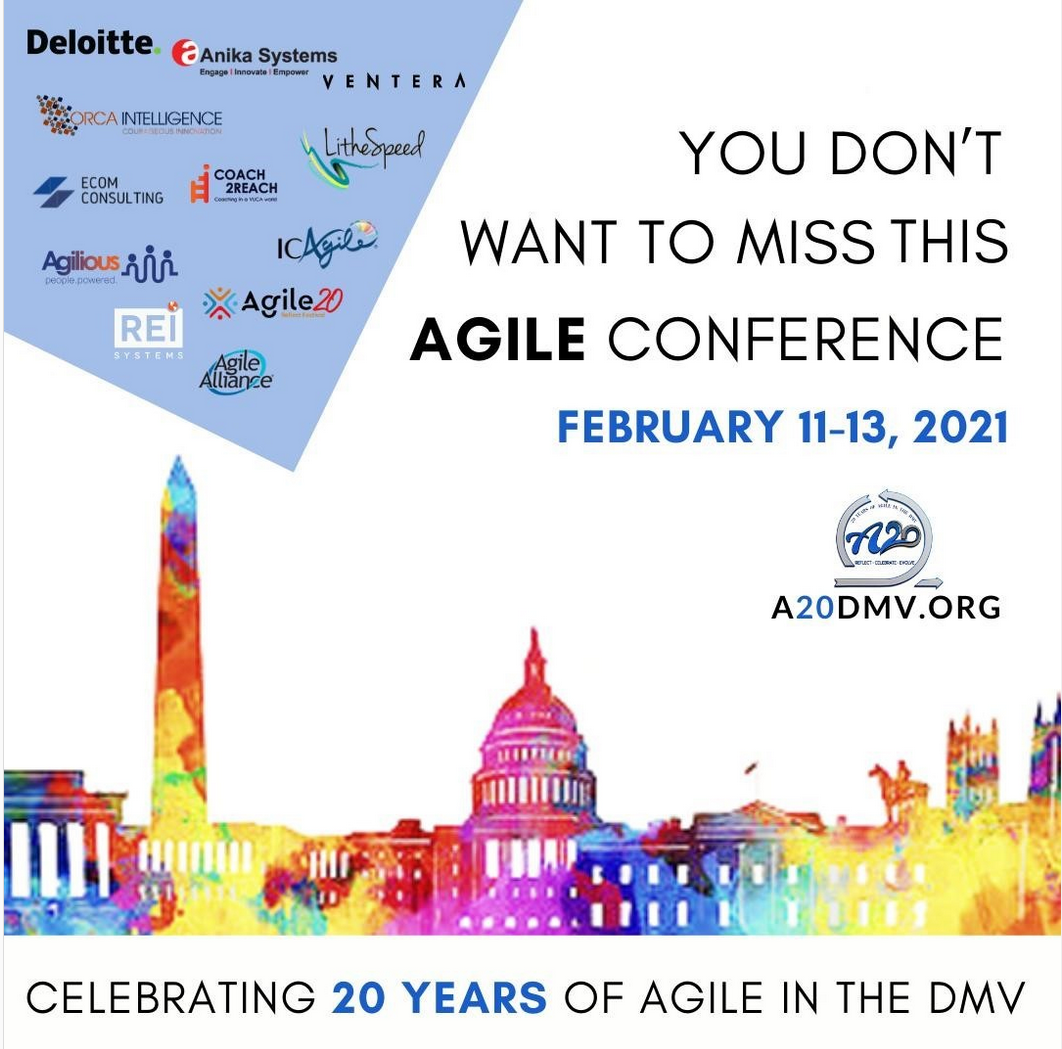 02/11/2021 – Agile 20 Conference – A20