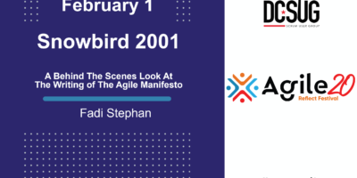 A Behind The Scenes Look at The Writing of The Agile Manifesto by Fadi Stephan at the DC Scrum User Group (DCSUG)