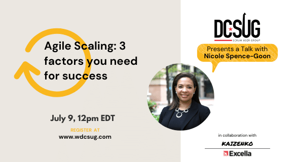 07/09/2021 – Agile Scaling: 3 Factors You Need For Success
