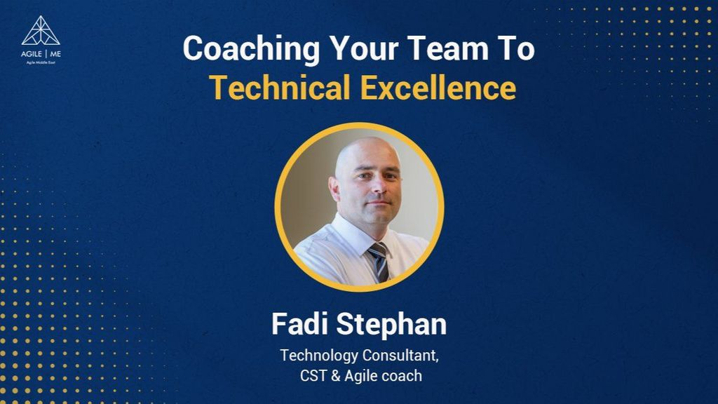 08/11/2021 – Coaching Your Team To Technical Excellence