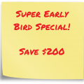 csm super early bird discount